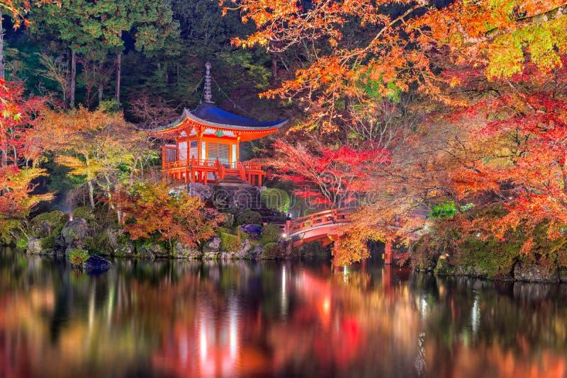 temple de Daigo-JI, Kyoto, Japon photos stock