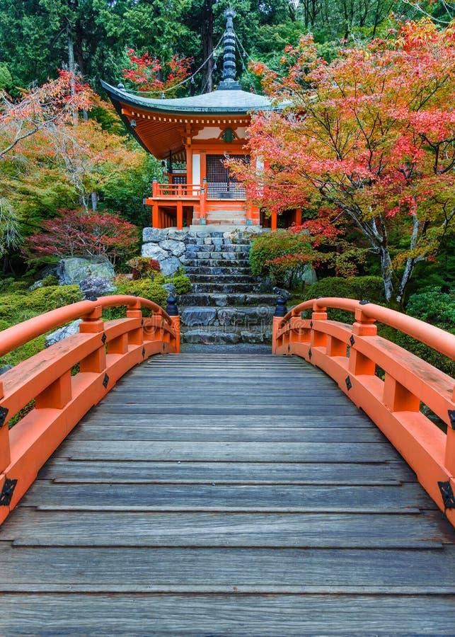 Temple de Daigoji à Kyoto, Japon image libre de droits