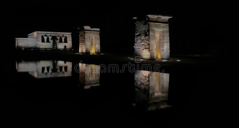 Temple de Debod photo stock