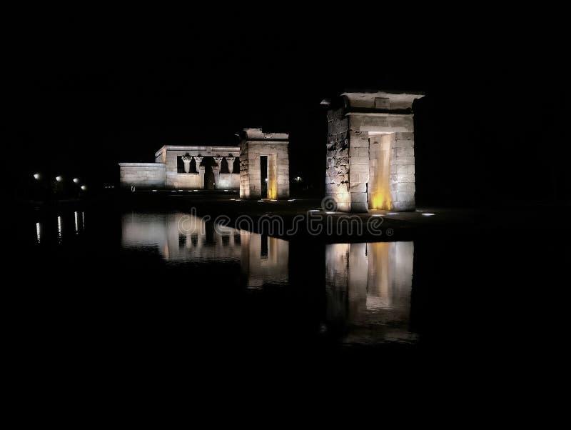 Temple de Debod photos stock