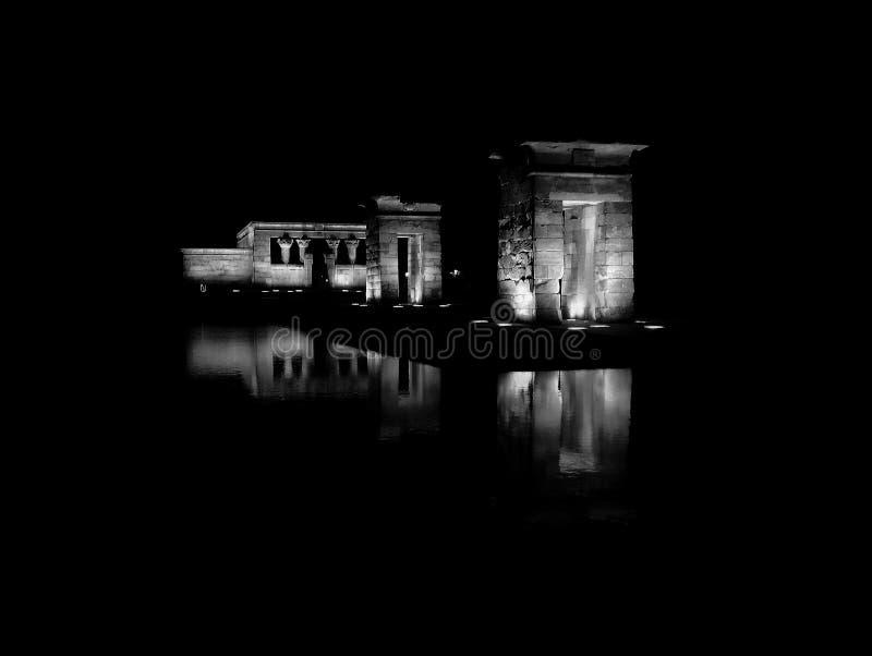 Temple de Debod image stock