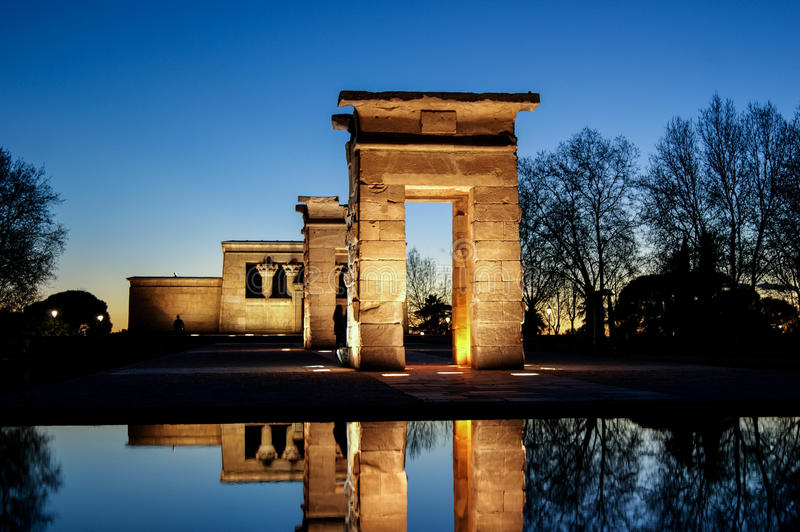 Temple de Debod photo stock