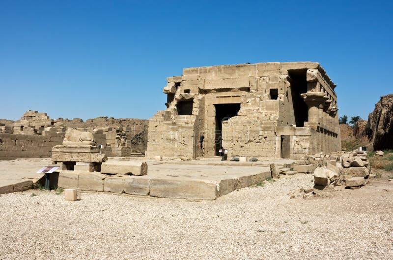 Temple de Dendera images libres de droits