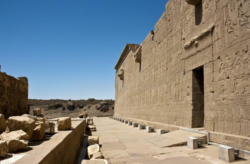 Temple de Dendera photos libres de droits