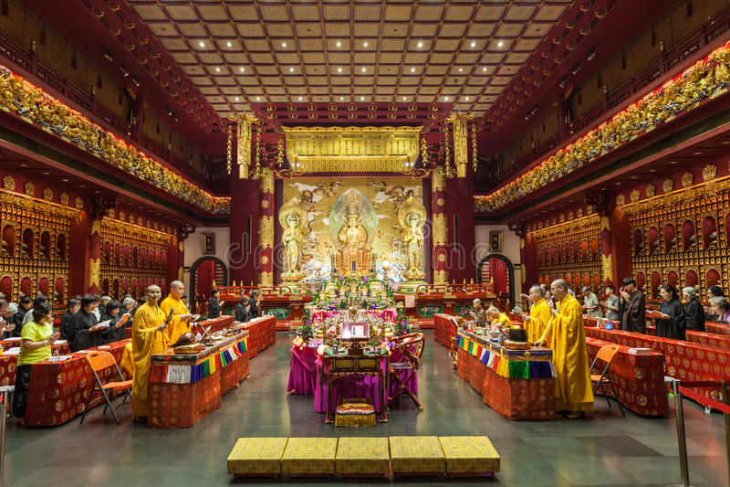 Temple de dent de Bouddha photographie stock libre de droits