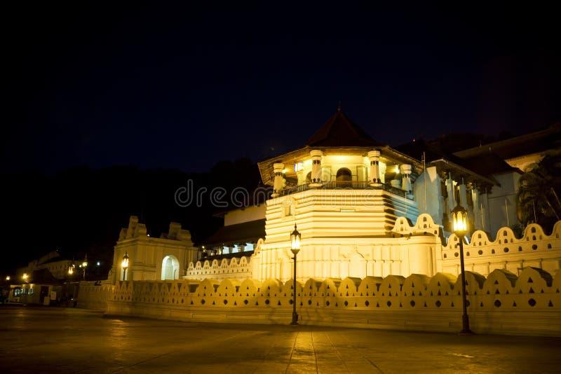 Temple de dent, Kandy, Sri Lanka image stock