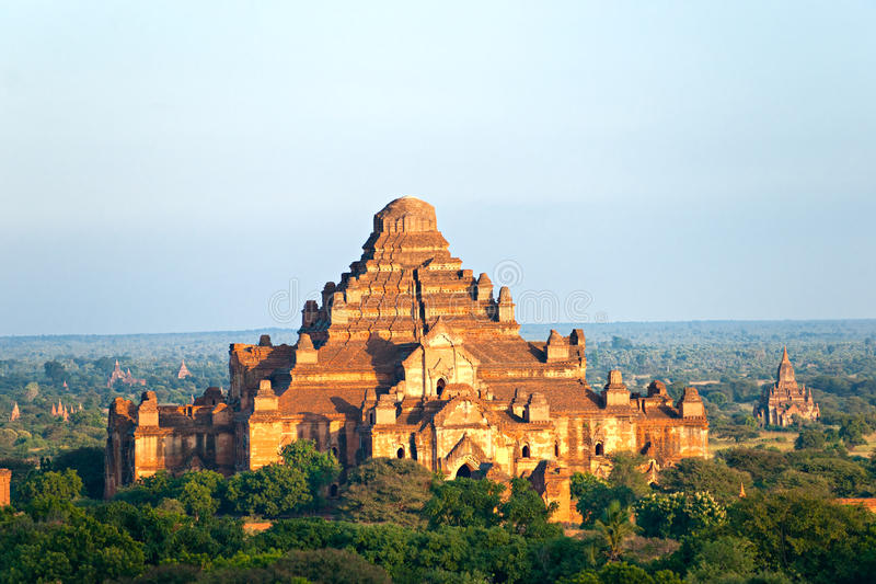 Temple de Dhammayangyi, Bagan, Myanmar. photo stock