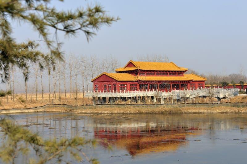 Temple de fleuve photographie stock libre de droits