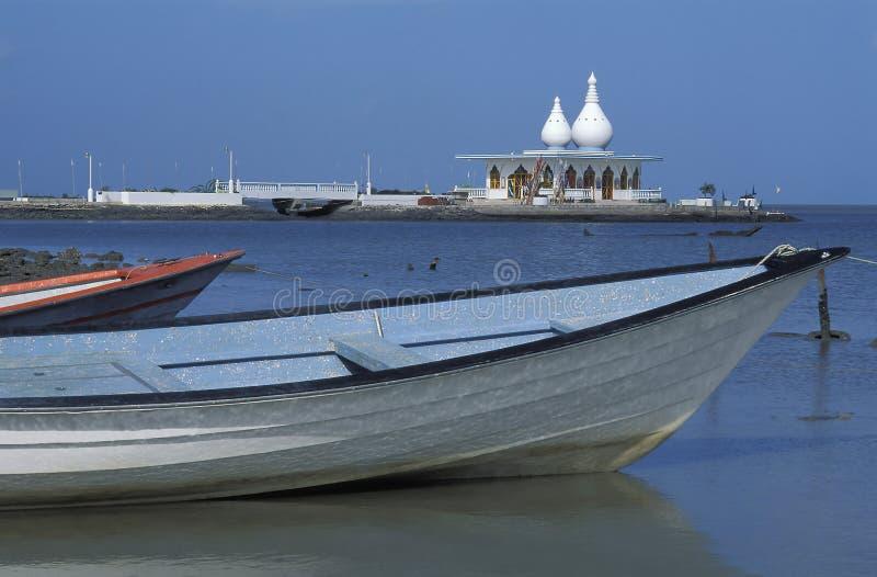Temple de flottement de Mandir, Trinidad images libres de droits