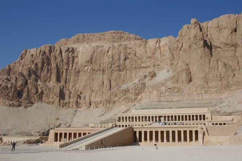 Temple de Hatshepsut image libre de droits