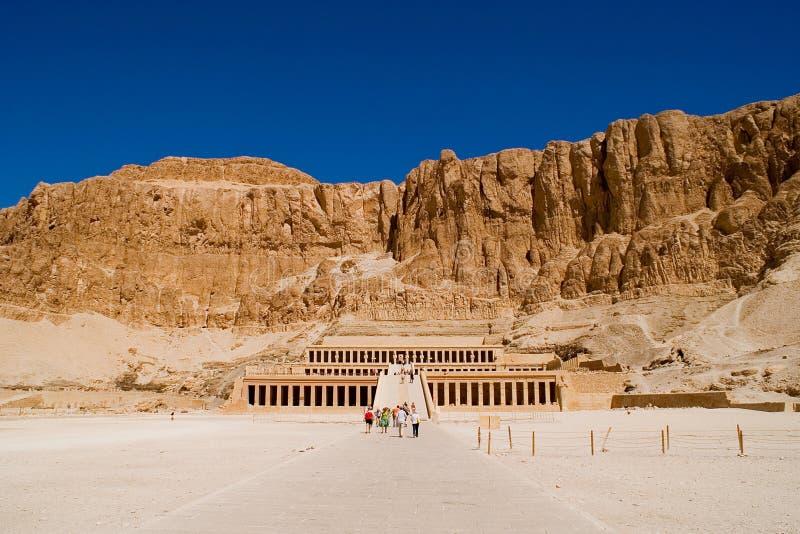 temple de hatshepsut de l'Egypte images stock