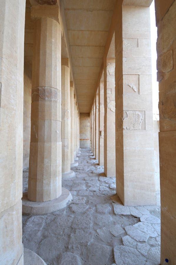 temple de hatshepsut de l'Egypte photos stock