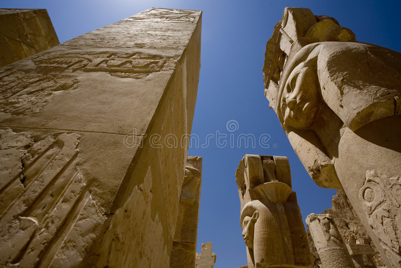 Temple de Hatshepsut Egypte photo libre de droits