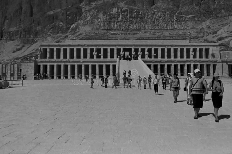 Temple de Hatshepsut, Egypte, octobre 2002 photos stock