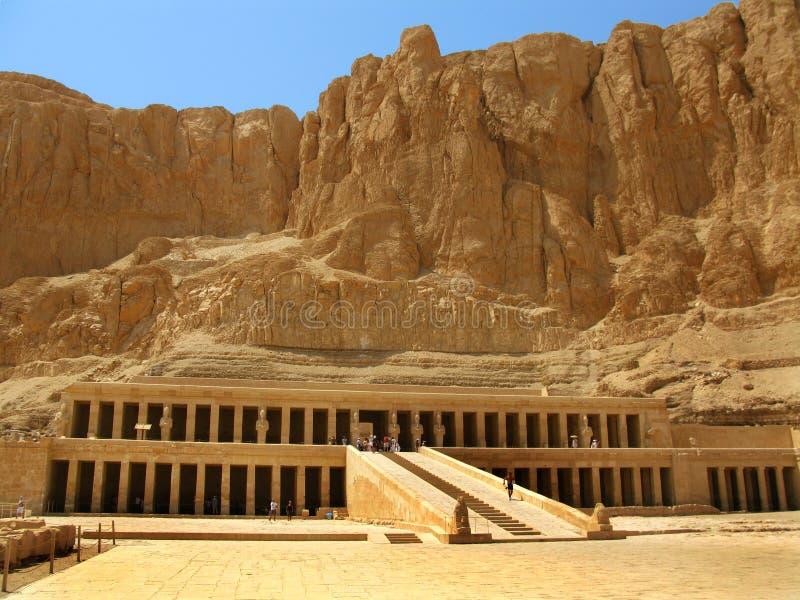 Temple de Hatshepsut, les Rois Valley, Luxor (Egypte) images stock