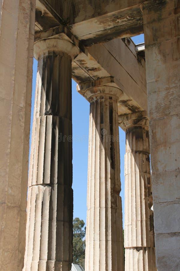 Download Temple De Hephaestus - Athènes - La Grèce Photo stock - Image du antique, landmark: 76082820