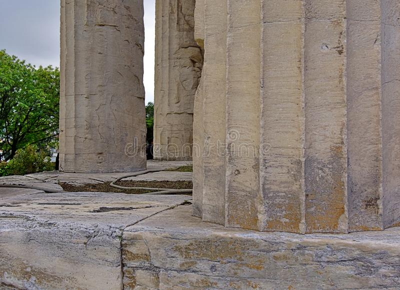 Temple de Hephaestus ? Ath?nes, Gr?ce photos stock