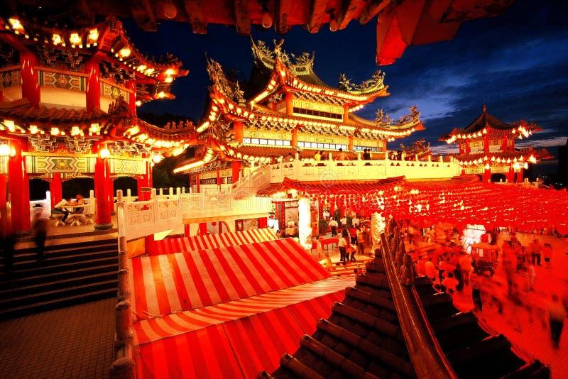 Temple de houe de Thean images libres de droits
