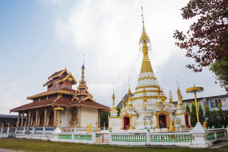 Temple de Hua Wiang en Thaïlande photo libre de droits