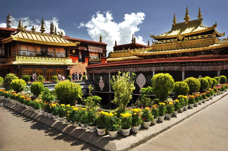Temple de Jokhang images libres de droits