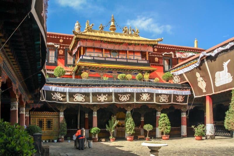 Temple de Jokhang photo stock