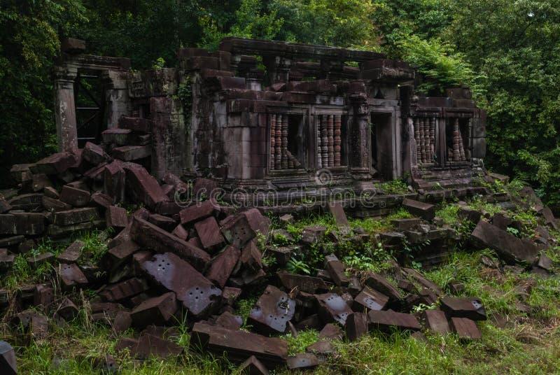Temple de jungle image libre de droits