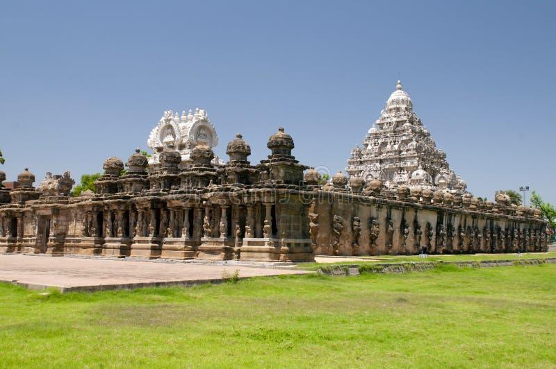 Temple de Kailasanathar photographie stock libre de droits