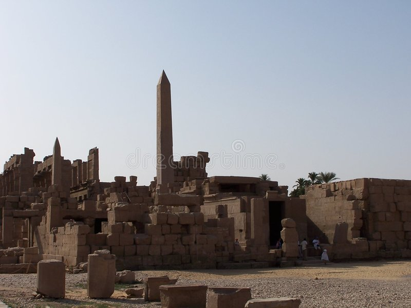 Temple de Karnak photo stock