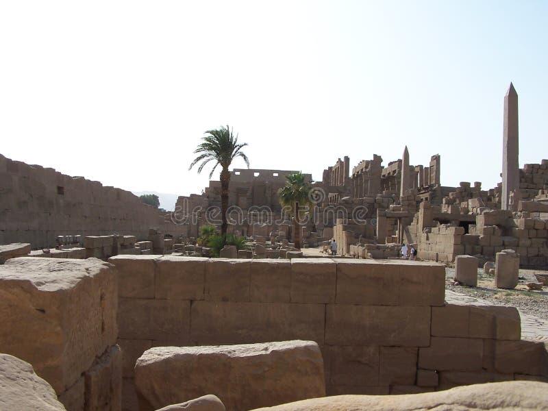 Download Temple de Karnak photo stock. Image du égyptien, monuments - 729452