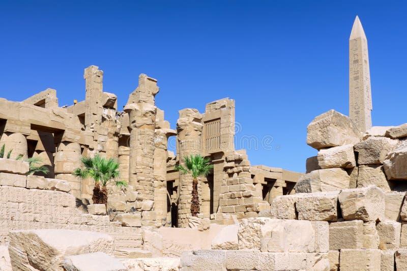 Temple de Karnak, Louxor, Egypte. photos libres de droits