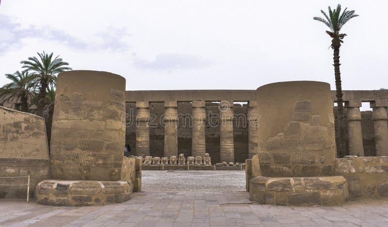 Temple de Karnk images stock