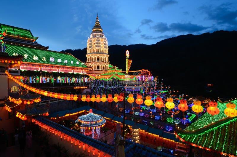 Temple de Kek Lok SI photographie stock