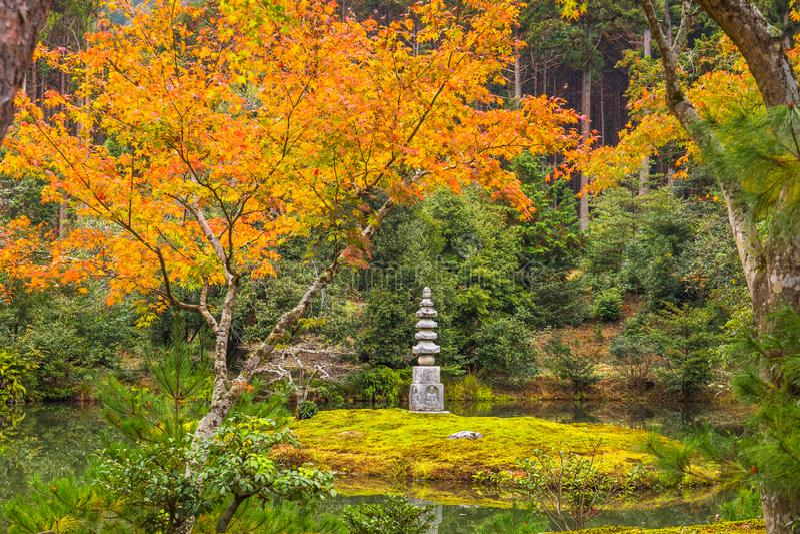Temple de Kinkaku-Ji image stock