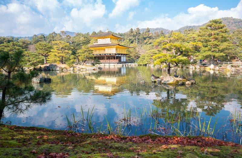 Temple de Kinkakuji à Kyoto image stock