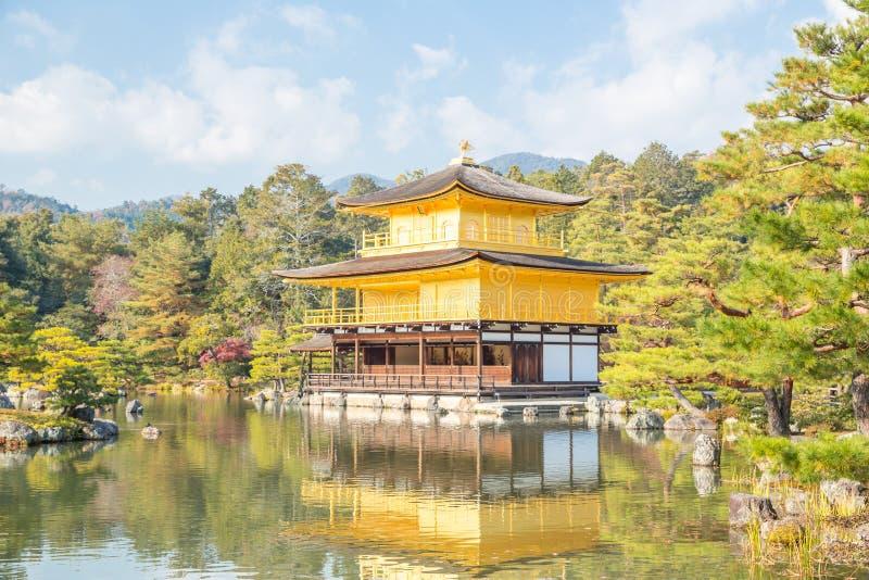 Temple de Kinkakuji à Kyoto photographie stock libre de droits