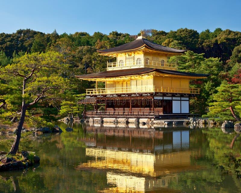 Temple de Kinkakuji photos stock
