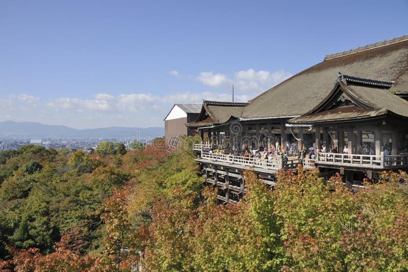 Temple de Kiyomizu-dera à Kyoto photo libre de droits