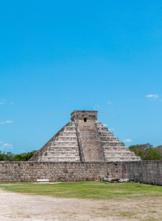 Temple de Kukulkan chez Chichen Itza, Mexique photos stock
