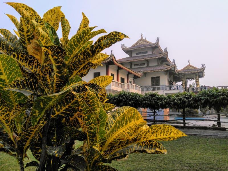 Temple de Kushinagar photo libre de droits