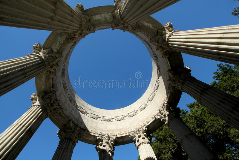 Temple de l'eau de Pulgas, la Californie photos libres de droits