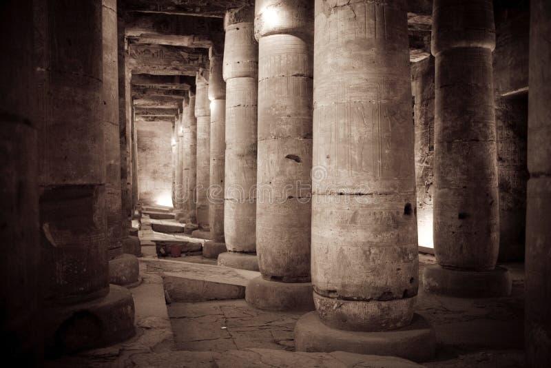 temple de l'Egypte photo libre de droits