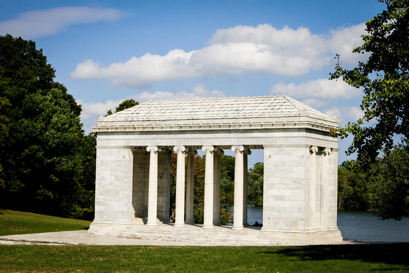Temple de la musique, Roger Williams Park, Providence, RI photo stock