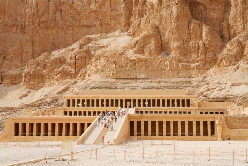 Temple de la Reine Hatshepsut. Luxor, Egypte photo stock