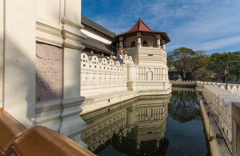 Temple de la relique sacrée de dent à Kandy, Sri Lanka photographie stock libre de droits