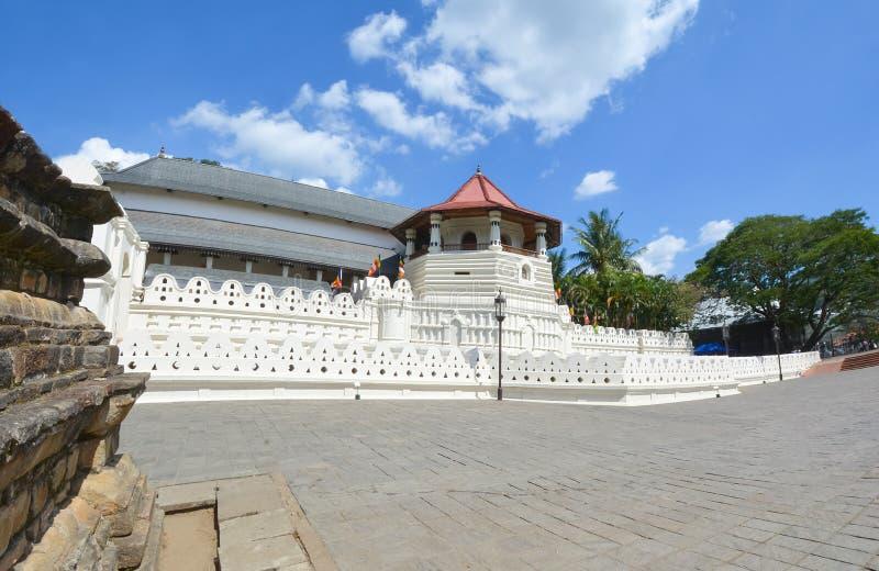 Temple de la relique sacrée de dent, Sri Lanka image libre de droits