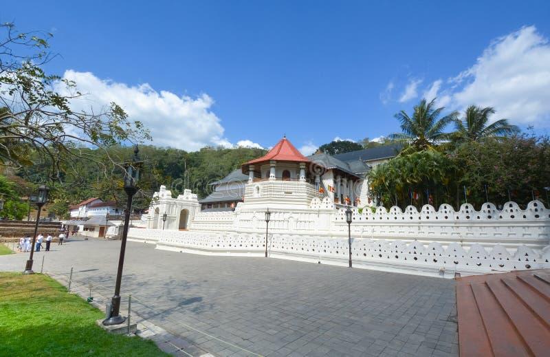 Temple de la relique sacrée de dent, Sri Lanka image stock