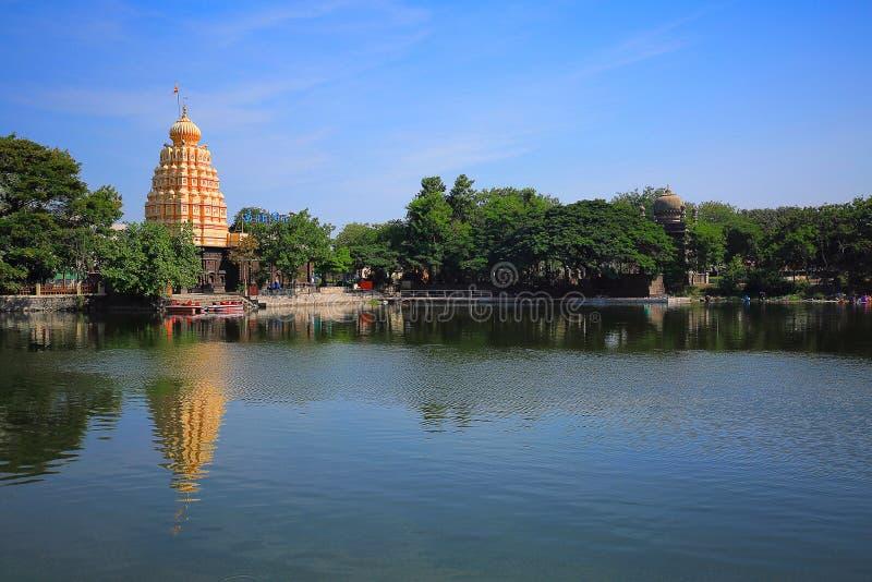 Temple de lac lord Shiva, Wagheshwar, Wagholi images libres de droits