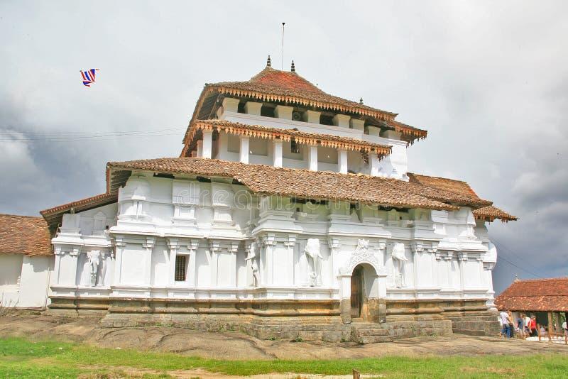 Temple de Lankatilaka de Sri Lanka images libres de droits
