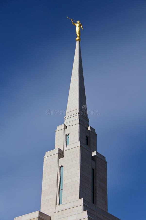 Temple de LDS photos stock