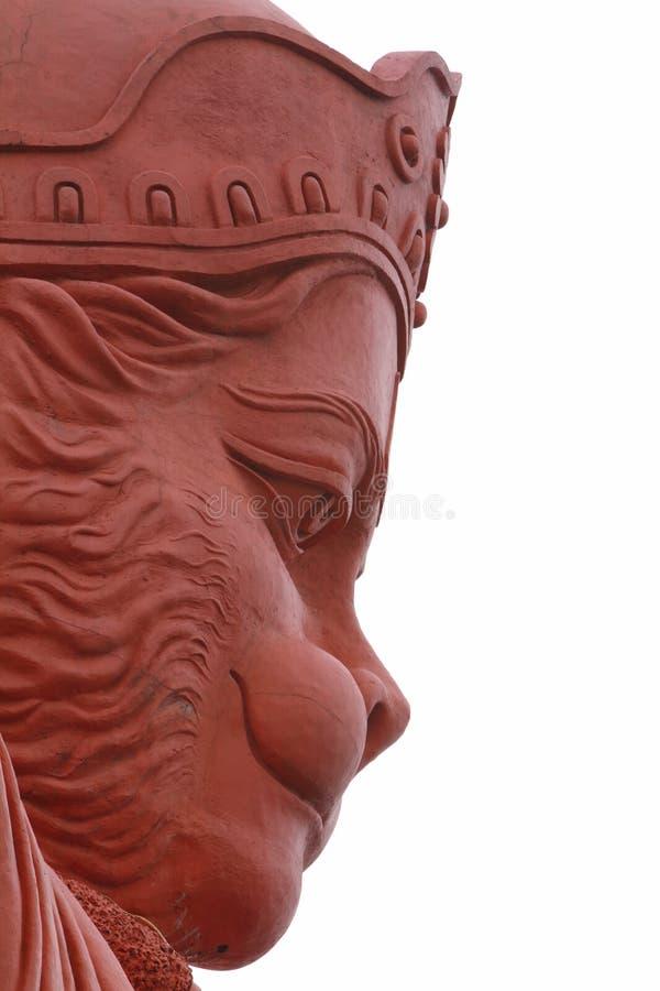 Temple de Lord Hanuman de Shimla dans l'Inde images libres de droits
